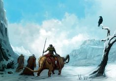trail of the damned Camel, Trail, Illustrations, Animals, Animales, Animaux, Illustration, Camels, Animal