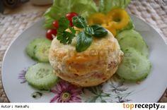 Smažený sýr 20 Min, Baked Potato, Camembert Cheese, Food And Drink, Potatoes, Eggs, Treats, Baking, Breakfast