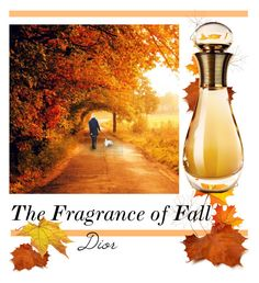"""""""The Fragrance of Fall"""" by fernshadowstudio-com ❤ liked on Polyvore featuring beauty and Christian Dior"""