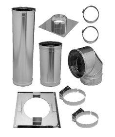 Laundry Chute Base Kit 2, 300mm for Residential 2 Storey House