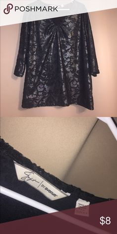 💞BUY 2 GET 1 FREE💞glitter top great condition, never worn Avenue Tops