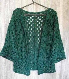 Resultado de imagen para SACO crochet HILO