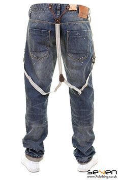 Scotch & Soda Jeans With Braces