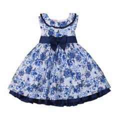 Nanette Baby Sleeveless Blue Floral Dress - Girls 2-4t   found at @JCPenney