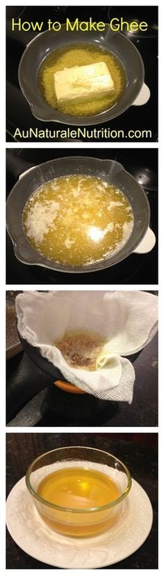 Ghee, what the heck is it? (Clarified butter!) Non-dairy. Paleo. Rich in vitamins A, D, E and K!By www.aunaturalenutrition.com
