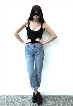 Vintage 1980's Denim 501 Levi's / Levis Jeans