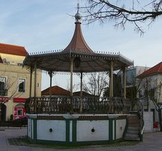 Bandstand of the city of Amora, municipality of Seixal, Portugal Portugal, Southern Europe, Portuguese, Big Ben, Fair Grounds, Country, City, Building, Travel