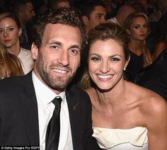 heysport.biz/ JarretStoll, 32 (left), is the longtime boyfriend of Dancing With The Stars host Erin Andrews, 36 (right)