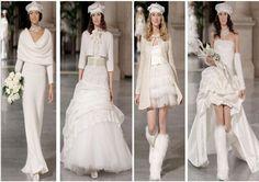 #abito da sposa #invernale, fascino e carattere #bride #winter #wedding
