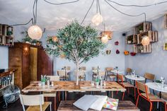 For the beginning of a series about design ideas worth cribbing from stylish restaurants, what better place to start than Paris, the culinary (and the style) capital of the world
