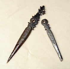 Miniature Tudor Era manicure set, recovered from the 'Mary Rose'. Tudor History, British History, Ancient History, Asian History, Renaissance, Vikings, Tudor Monarchs, Tudor Dynasty, Tudor Era