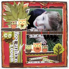 Layout - Kaisercraft - Tiny Woods - Artfull Crafts Scrapbooking Layouts, Woods, Card Making, Paper Crafts, Collections, Christmas Ornaments, The Originals, Holiday Decor, Children