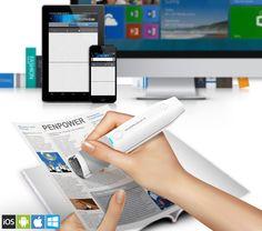 Bluetooth ručný skener a prekladač - WorldPenScan X Fitbit, Bluetooth, Ios, Android