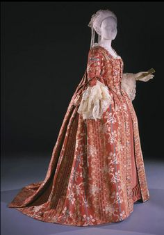 Robe à la Française 1760s The Philadelphia Museum of Art