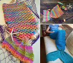 Crochet Mermaid Blanket Free Pattern