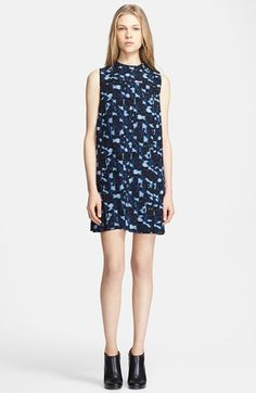 Proenza Schouler Cloud Print Silk Dress available at #Nordstrom