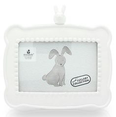 This is one of my favorites on totsy.com: Bunny Frame, White