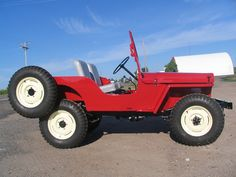 Beautiful 1948 Jeep CJ-2A for sale at Barrett-Jackson for $22.5K