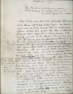 George Eliot's manuscript of Middlemarch