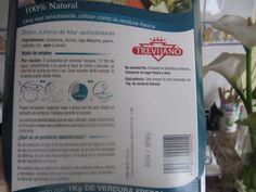 15: 20 Mi aportación a la comida: sopa juliana del mar deshidratada. Instrucciones de preparación