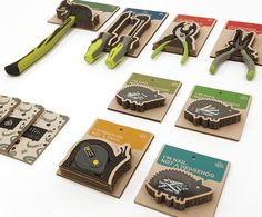TADA TOOL PACKAGING gives tools an animal personality on Behance