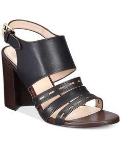 Cole Haan Lavelle Block-Heel Sandals