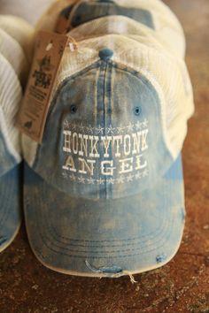 HONKY TONK ANGEL TRUCKER CAP - Junk GYpSy co.