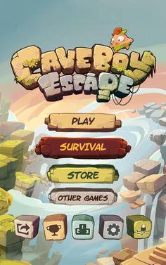 Caveboy Escape– скриншот