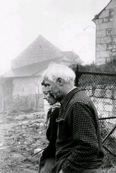 Max Ernst and Dorothea Tanning, France, 1957 -by Henri Cartier-Bresson