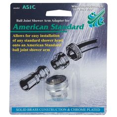 Whedon Shower Arm Adapter Fip Chrome Plated Solid Brass - Shower Head - Ideas of Shower Head - Whedon Shower Arm Adapter Fip Chrome Plated Solid Brass Price : Brass Shower Head, Shower Head With Hose, Led Shower Head, Shower Arm, Hand Held Shower, Shower Heads, Massage Shower Head, Shower Head Filter, Showers Without Doors