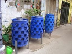 plant-vegetables-with-waste-plastic-drums | Manufacturers-outdoor-furniture