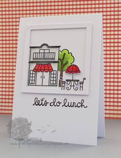 Make The Day Special Stamp Store Blog: Lets do Lunch!!