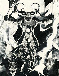 Thor by Jimbo Salgado *