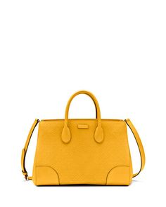 V1XU0 Gucci Bright Diamante Medium Bag, Yellow