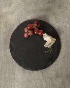 Round Slate Platter