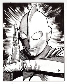 Ultraman by Adi Granov *