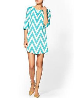 Everly Clothing Chevron Mini | Piperlime