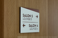 VISUELS RG-10 Wayfinding Signage, Signage Design, Signage Systems, Trophy Plaques, Cut Out Letters, Pictogram, Signs, Decoration, Wood