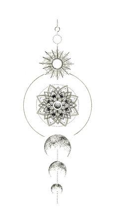 Circle Tattoos, Spine Tattoos, Dope Tattoos, Body Art Tattoos, Hand Tattoos, Sleeve Tattoos, Tatoos, Dotwork Tattoo Mandala, Geometric Mandala Tattoo