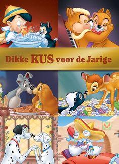 Dikke KUS voor de jarige! #Hallmark #HallmarkNL #disney #feest #jarig #kus