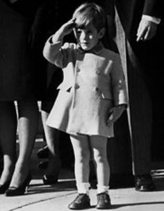 JFK Jr. The famous photo.