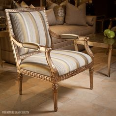 Ferguson Copeland Upholstery Italian Provincial Chair