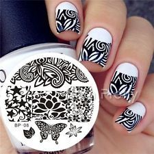 Nail Art Stamp Template Image Stamping Plates Manicure DIY BORN PRETTY #08