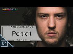 Lightroom 6 Tutorial - Full Lightroom Portrait Editing - YouTube