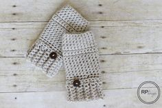 Andy Crochet Hand Warmer Pattern - Rescued Paw Designs