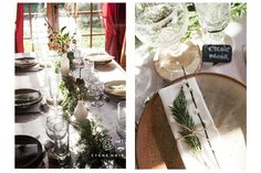 Cygne Noir Studio - Photographe Portrait, Mariage & Lifestyle à Toulouse - Une table de fête végétale   #noel #végétal #décoration #decorationdetable #tabledefête #fête #diy #wedding #mariage #champêtre #photographiemariage #photographemariage