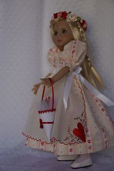 Effner-13-Little-Darling-VALENTINE-ROSES-Ensemble-by-Ladybugs-Doll-Designs