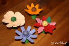 Amazingly adorable!  Project Idea -- Peg Flowers and Fairies at Wee Folk Art.