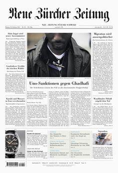 Meiré und Meiré: Neue Zürcher Zeitung