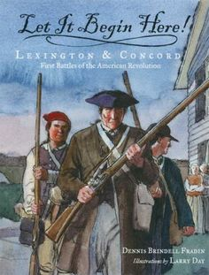 Lexington and Concord, Thomas Jefferson, and Declaration of Independence Lesson